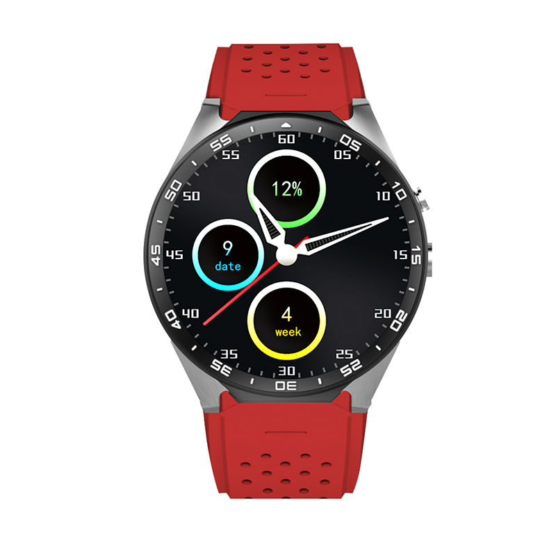KW88 Smart Electronics Connected watch Wearable Devices Waterproof Built-in GSM SIM Card Slot Android Gps Bluetooth Call wireless service call bell system popular in restaurant ce passed 433 92mhz full equipment watch pager 1 watch 7 call button