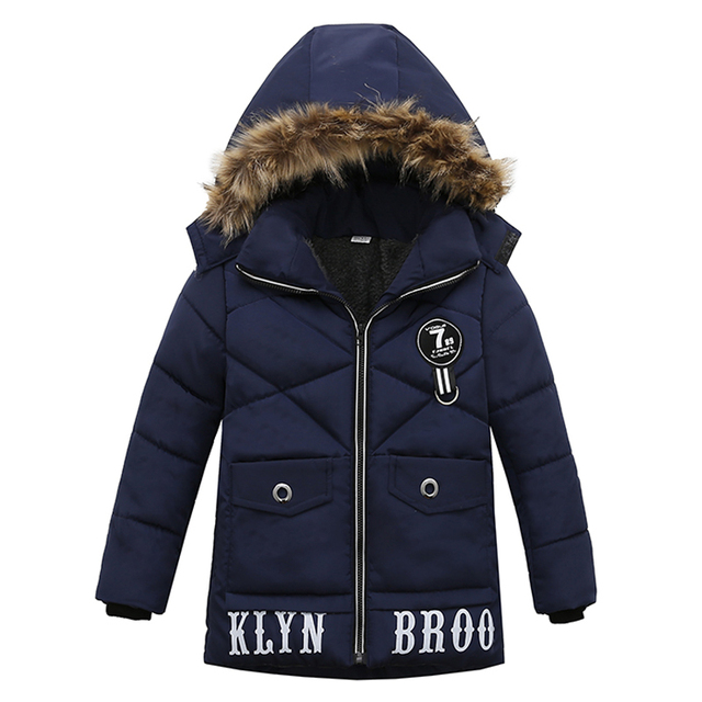 c0cc3eb39 Kids Jacket 2018 Autumn Winter Baby Boys Jacket For Boys Winter Coat ...