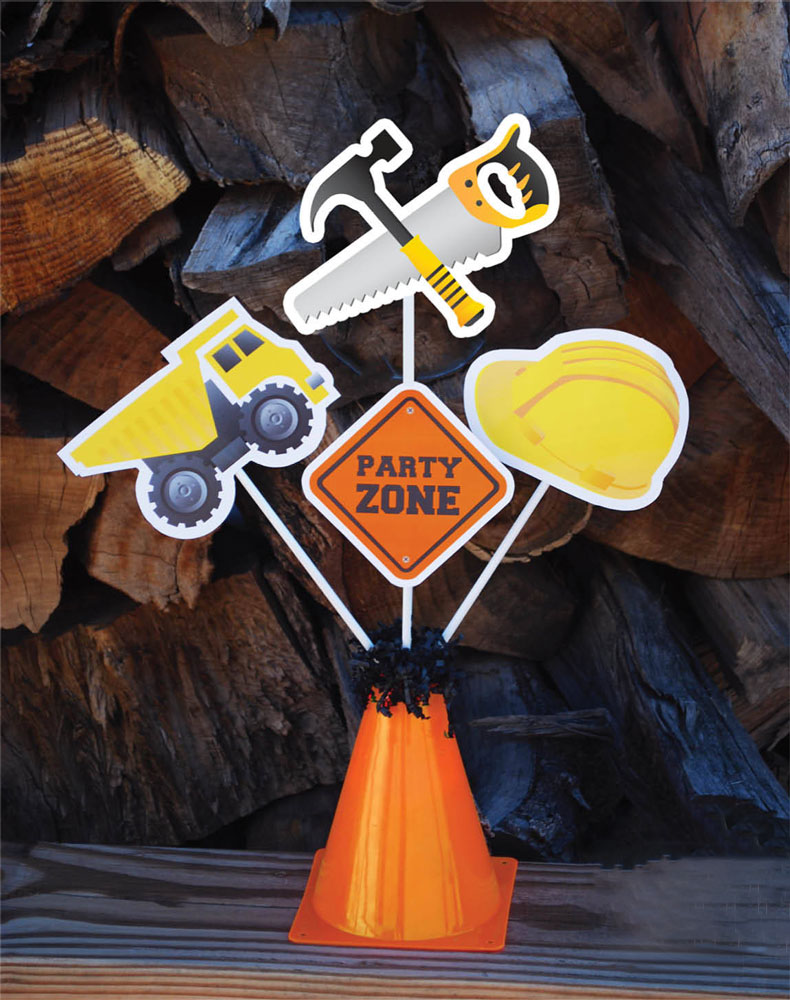 Construction Party Centerpieces Construction Table Decoration Boy Birthday Party Centerpieces Decoration Supplies Tools Truck