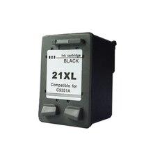 Для hp 21 21xl картридж с чернилами для HP Deskjet F2180 F2280 F4180 F4100 F2100 F2200 F300 F380 D1500 D2300 для HP21 картриджи