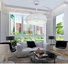 Stealth Deckenventilator Licht Schlafzimmer Umwandlung Einfache Modern Home Wohnzimmer Ventilator Led Lam