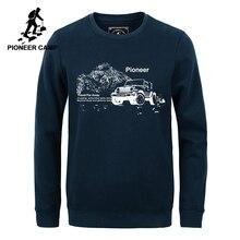 Пионерский лагерь осень зима толстовки брендовая мужская одежда теплая флисовая мужская толстовка качество хлопок толстовки 305118