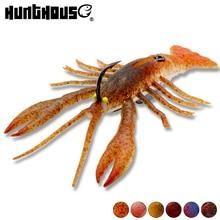 Hunthouse 2pcs crawfish bait lobster lures Shrimp crayfish Fishing Lure Tender Baits Sinking leurre soup fishing deal with