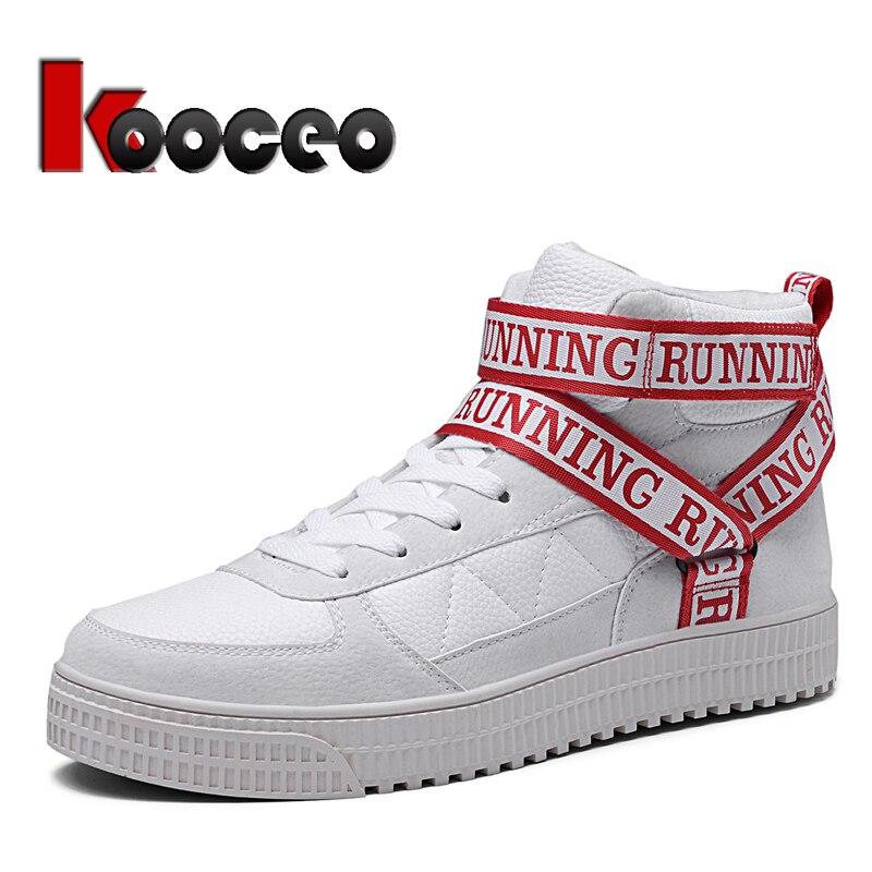 Hommes appartements skateboard chaussures haut à lacets en cuir mode 6 pouces automne hiver décontracté blanc rouge noir pour garçons fille Sport
