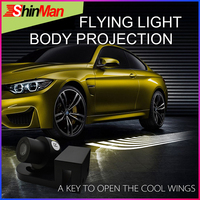ShinMan Super Cool Angel Wings Car lights Car body Projector Light Hight quantity Chassis lights Puddle Light For All Cars