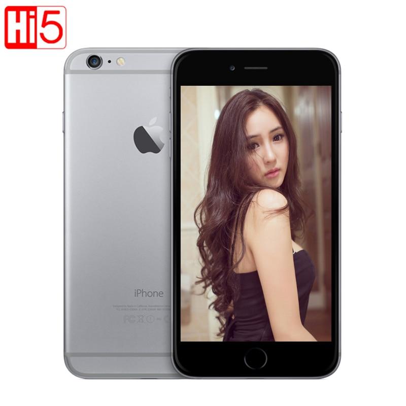 Открыл Apple iPhone 6 Wi-Fi 4.7 ''Экран 16 г/64 ГБ/128 ГБ Встроенная память Dual Core IOS 8MP Камера 1080 P 4 К видео LTE Мобильного Телефона