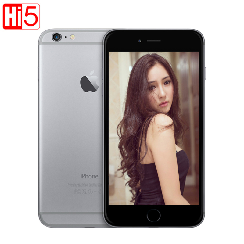 Desbloqueado Apple iPhone 6 WI-FI 4.7 ''Tela 16G/64 GB/128 GB ROM Dual Core IOS 8MP Câmera 1080 P 4 K de vídeo do telefone móvel LTE