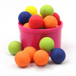 50Pcs Bullet Balls Rounds Compatible For Nerf Rival Apollo Child Toy