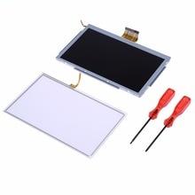 VKTECH Game Machine Screen Accessories LCD Display Screen Replacement+ Gamepad Repair Tools Set for Nintendo Wii U