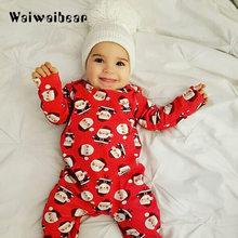 04ff9ae3aa432 Automne bébé barboteuses noël bébé garçons filles vêtements nouveau-né  vêtements infantile bébé à manches longues combinaisons d.