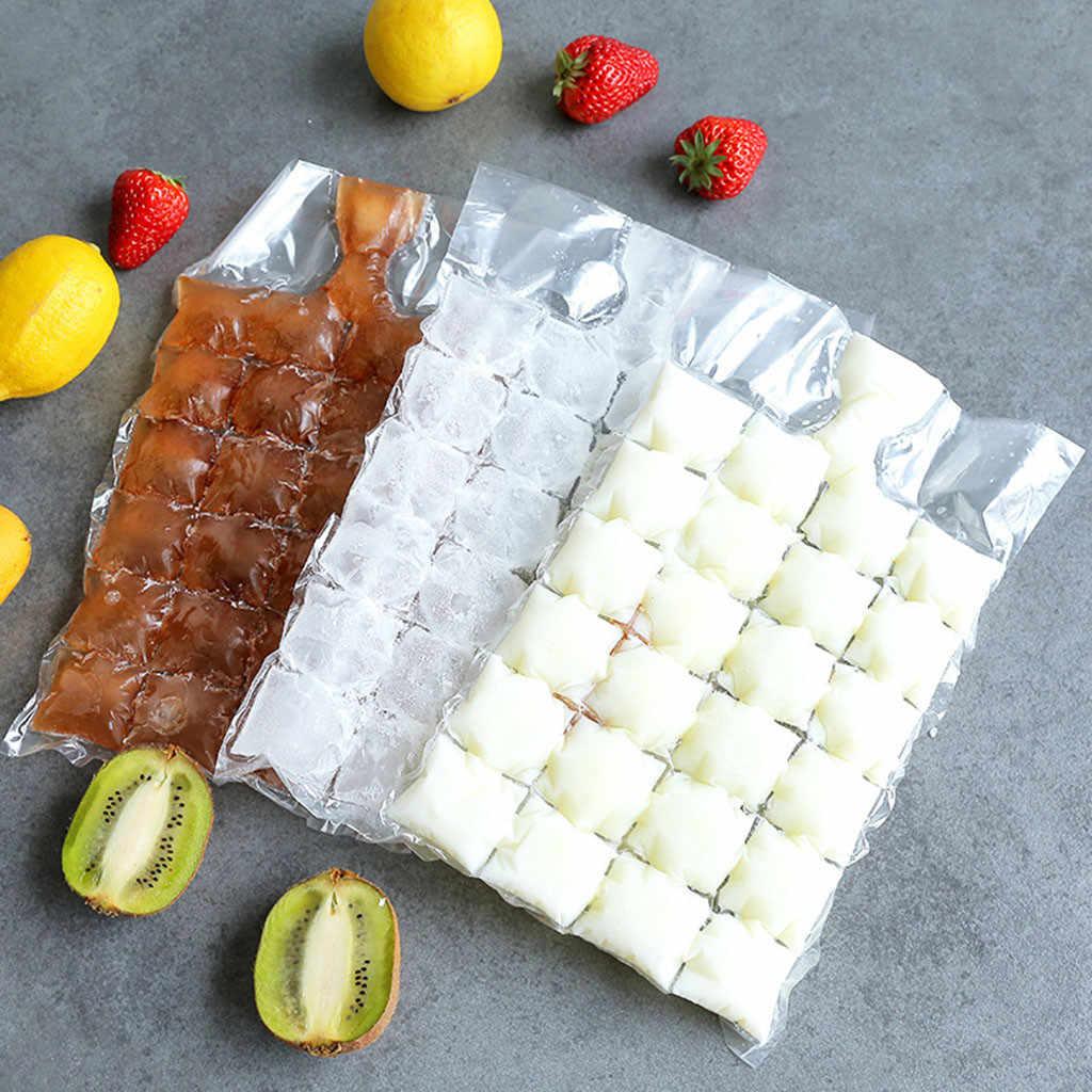 10pcs พลาสติกถุงน้ำแข็ง One-time Clear ถุง Popsicle Ice Cream Freezer กระเป๋า DIY โยเกิร์ต Ice ทำแม่พิมพ์เด็กงานฝีมือมือ #15
