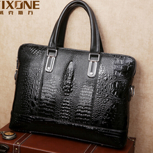 "Famous brand pu leather men handbag high quality 14"" laptop leather bag man business bags fashion portfolio shoulder bag B00027"