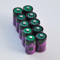 10PCS ER14250 1/2AA 3.6V liSOCL2 lithium primary battery 14250 1/2 AA cell replace for Tadiran TL-5902 gas water meter
