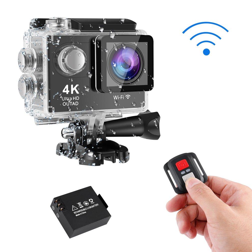 Caméra d'action étanche OUTAD 1080 P M 4 K Ultra HD Wifi télécommande sport caméscope vidéo DVR DV go caméra étanche pro