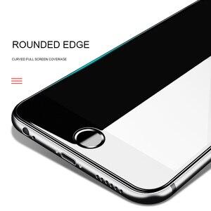 Image 3 - 3D 9H temperli cam iPhone 8 7 6 6s artı 5 5s SE 5C ekran koruyucu iPhone X XS Max XR 11 Pro Max Premium koruyucu