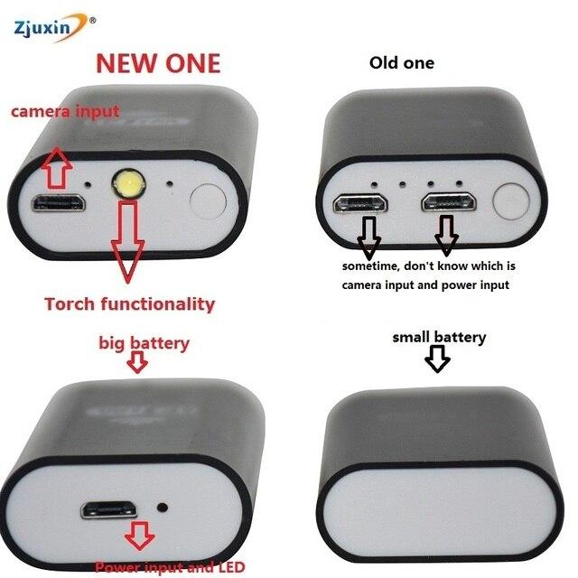 1M Zjuxin WiFi Endoscope 8mm Lens endoscope iphone NEW one endoscope camera android with 6 led mini wifi camera