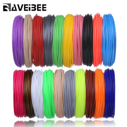Aveibee 100 Meters 10 Colors 1.75MM PLA Filament Materials For 3D Printing Pen Threads Plastic Printer Consumables DIY Gifts