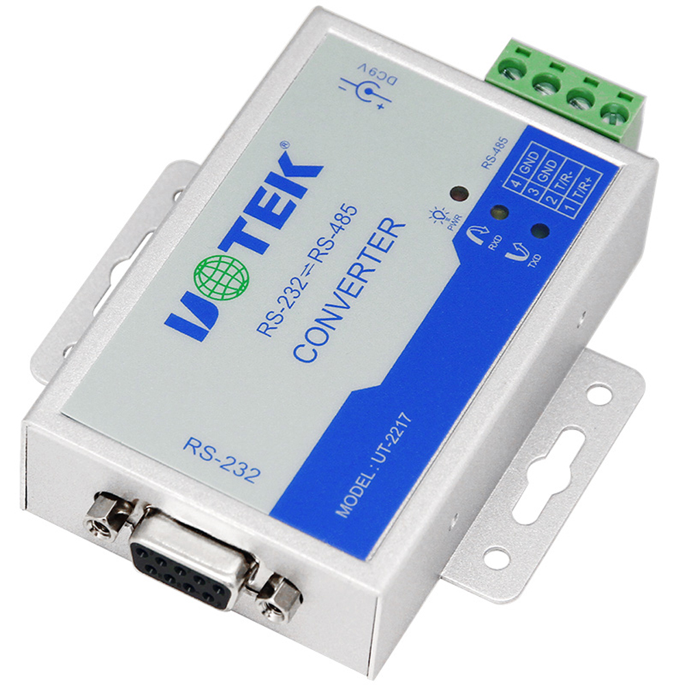 RS232 to RS485 active converter 232 to 485 converter with power DB9 to rs485 converter  rs485 adapter rs485 converter rs232 rs485 rs485 converter passive monitoring accessories