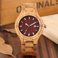 Unique Quartz Watch Men Full Wooden Wristwatch Leisure Lightweight Wooden Watch Fashion Natural Clock Male 2019 Arrival