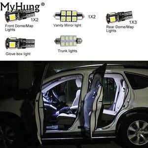 For VW JETTA MK5 Passat B6 R36 Bulbs Car Led Interior Light Replacement Bulbs Dome Map Lamp Light Bright White 9 PCS Per Set