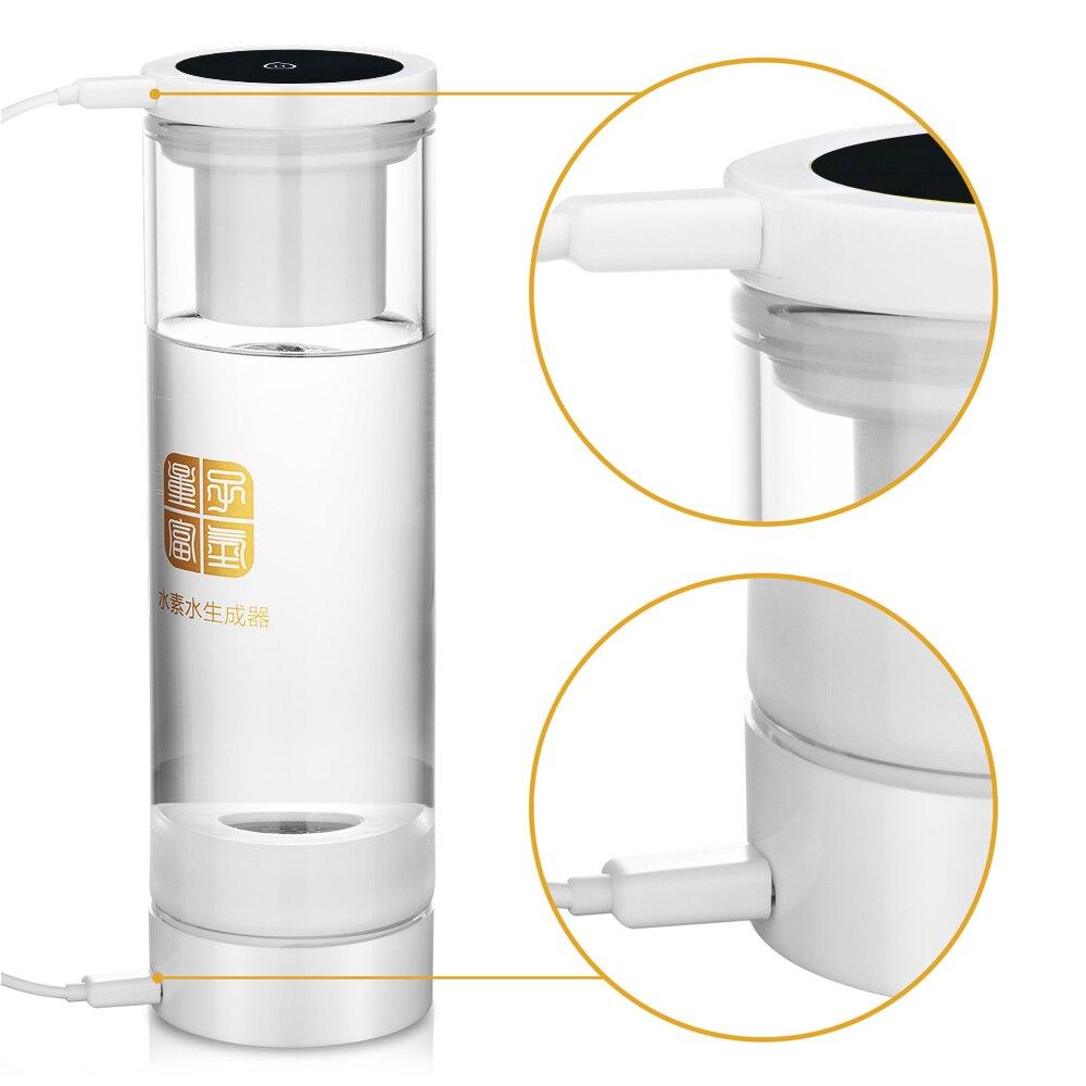 Portable Wireless transmission MRETOH 7.8Hz Molecular Resonance Effect Technology OH + quantum Hydrogen Water Generator  bottle