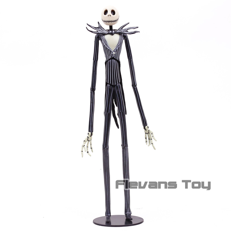 Christmas Skeleton.Us 26 9 18 Off The Nightmare Before Christmas Skeleton Jack Skellington Pvc Action Figure Toy Model Gift In Action Toy Figures From Toys Hobbies