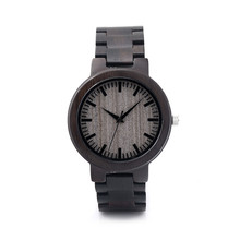 Men Women Fashion Retro Wooden Quartz Couple Watches For Him And Her Lovers' Watches