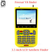 FREESAT V8 Finder segnale Satellitare Finder V-71 HD DVB-S2 MPEG-/MPEG-4 FTA tester Satellite Digitale 3.5 pollice Display LCD satlink
