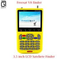 V8 FREESAT V-71 Finder Finder sygnału Satelitarnego HD DVB-S2 MPEG-2/MPEG-4 Cyfrowy miernik Satelitarny FTA 3.5 cal Wyświetlacz LCD satlink