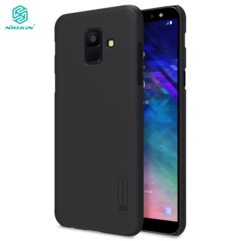 sFor Samsung A6 2018 Case A6S Cover Nillkin Frosted Shield Hard Case For Samsung Galaxy A6 Plus 2018 5.6'' & 6.0''(China)