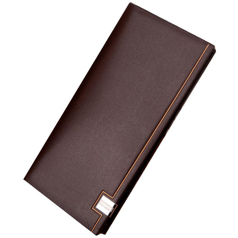 Hot 2018 Famous brand men's wallet genuine leather long Wallet men money handbag Ultra-thin coin Purse Clutch Men bag Card