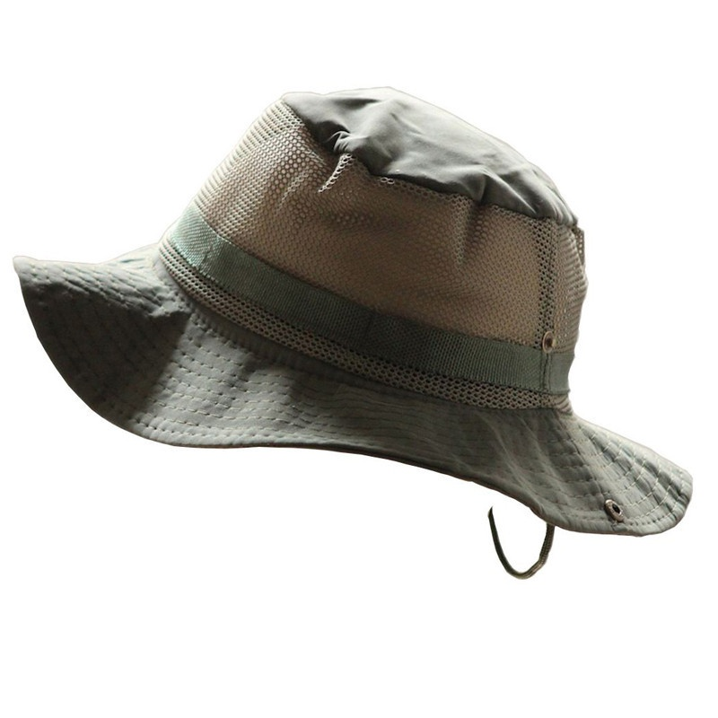 29a051af New Sun Hat Panama Bucket Flap Hat Breathable Boonie Multicam Nepalese  Boonie Camouflage Hats Outdoor Fishing