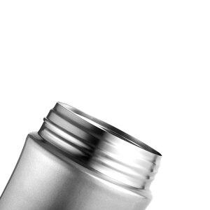 Image 3 - Haers 500 мл Термокружка для еды с вакуумной изоляцией термос для супа 18/8 из нержавеющей стали Ланч бокс со складной ложкой