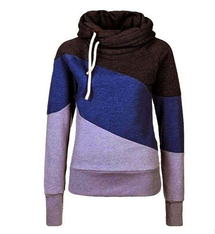 5e838203843 Women pink Hooded Sweatshirt Long Sleeve svitshot hoodies for women Striped women  sweatshirt plus size coat-in Hoodies   Sweatshirts from Women s Clothing ...