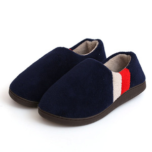 Image 5 - FAYUEKEY Big Size 2019 Autumn Winter Home Thermal Cotton Padded Warm Slippers Men Women Indoor\Floor Sneaker Lovers Flat Shoes