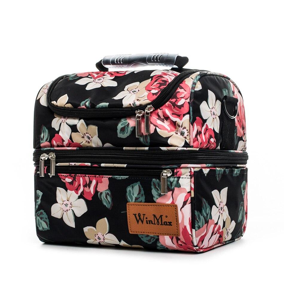 viagem armazenamento manter fresco térmico isolado saco lancheira bolsa para mulher