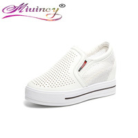 Within The Higher Women S Shoes 2017 New Wild Korean Version Of The Breathable Shoes Summer