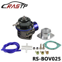 RASTP Universal BOV Blow Off Valve Turbo FV With Flange Blow Dump Blow Off Adapter RS BOV025