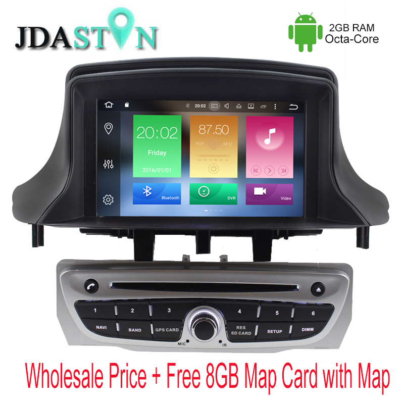JDASTON 1 DIN Octa Core 2GB Ram Android font b Car b font DVD Player For