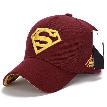 2018 Superman Baseball Caps