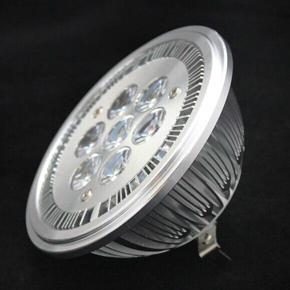 7*2W led es111 light qr111 lamp GU10 14W led ar111 85-265VAC shop lighting high lumens FREE SHIPPING Wholesale Fast Delivery
