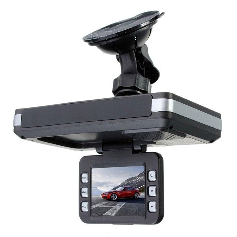 2018 Auto Parts Dash Camera Car DVR Car-Styling 1PCS 2 In 1 MFP 5MP Car DVR Recorder Radar Speed Detector Trafic English 2 4 car dvr car radar detector english