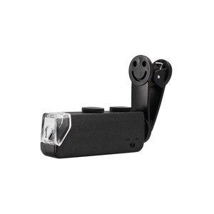 Image 5 - 60 100X Zoom Handy linsen Mikroskop Universal Lächeln Clip Lupe Kamera Objektiv für Samsung Galaxy S8 S7 Iphone 7 6 6S 5