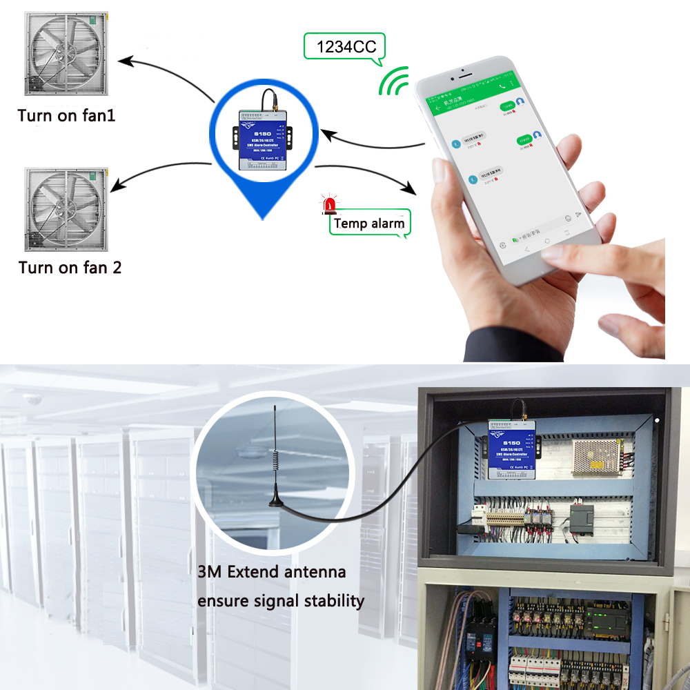 Automatic Alarm Remote Level
