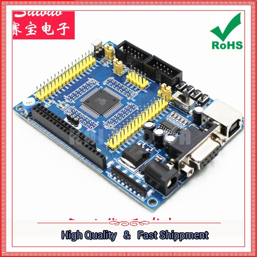 Free Shipping 1pcs ATmega128 mega128 AVR Minimum System Core Board Development Board module C3A5 0 13kg