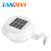 LED Solar Lamp Sensor Waterproof Solar Light 3 LEDs Street Light Outdoor Roof Lamp Path Wall