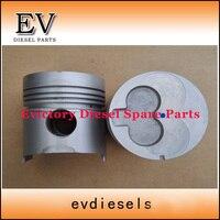 Para Doosan Deawoo montacargas motor DC24 pistón y juego de anillos de pistón