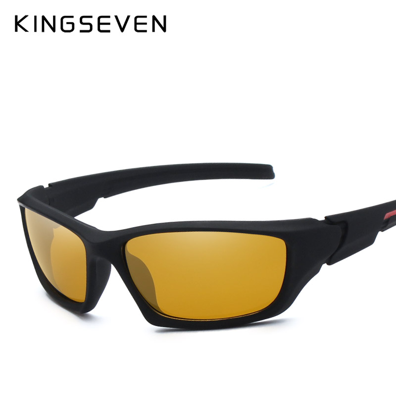 Fashion Polarized Sunglasses Men Vintage Driving Sun Glasses Male Goggles Shadow Gold Red