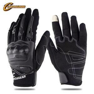 Cyclegear перчатки для мотогонок, полный палец, мотор, езда на велосипеде, guantes guanti, для мотокросса, CG668