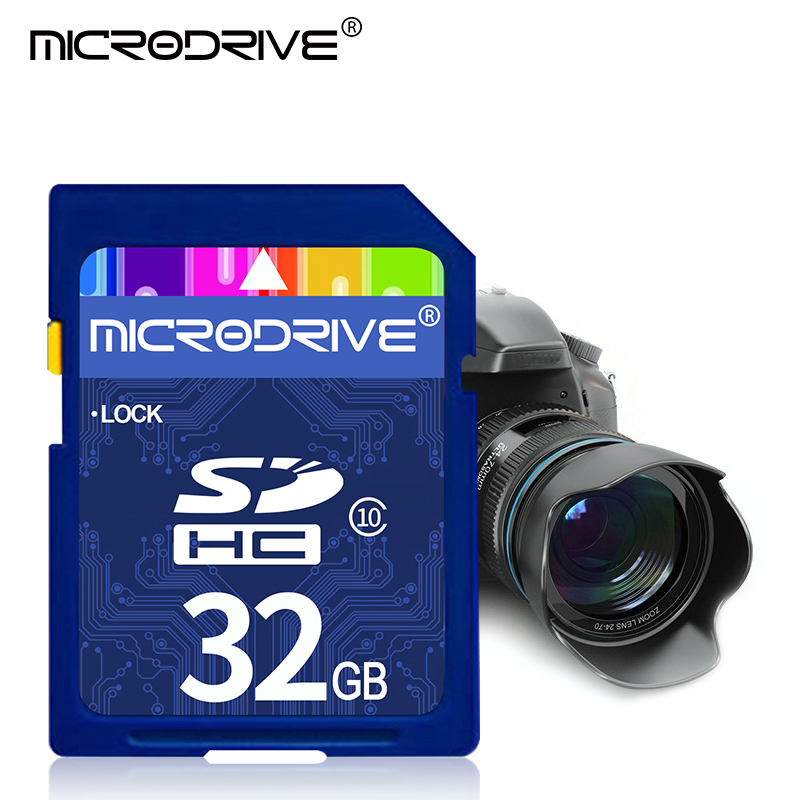 High Speed ​​Camera Memory Card Class 10 SD Card 64GB 128GB SDXC 8GB 16GB 32GB SDHC UHS-1 Cartao Sd Free Shipping